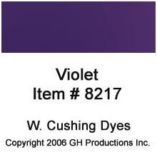 Violet Dye W. Cushing Co.