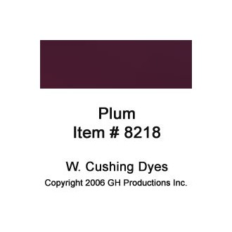 Plum Dye W. Cushing Co.