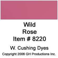 Wild Rose Dye W. Cushing Co.