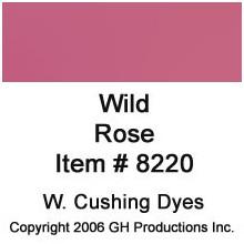 Wild Rose Dye W. Cushing Co.