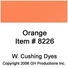 Orange Dye W. Cushing Co.