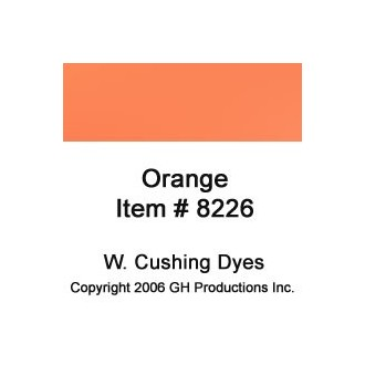 Orange Dye W. Cushing Co.