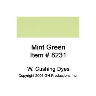 Mint Green Dye W. Cushing Co.