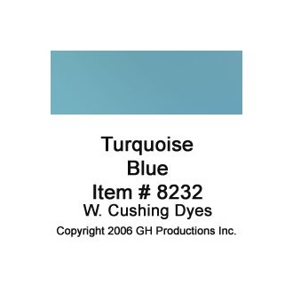 Turquoise Blue Dye W. Cushing Co.