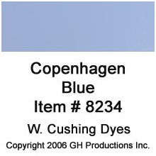 Copenhagen Blue Dye W. Cushing Co.