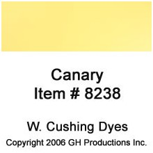 Canary Dye W. Cushing Co.