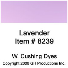 Lavender Dye W. Cushing Co.