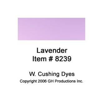 Lavender Dye W. Cushing Co.