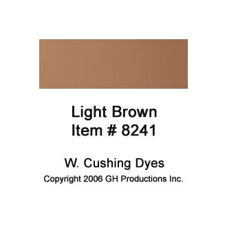 Light Brown Dye W. Cushing Co.