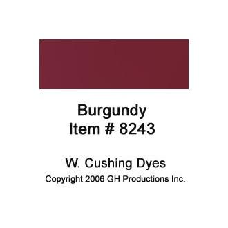 Burgundy Dye W. Cushing Co.