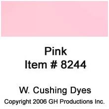Pink Dye W. Cushing Co.