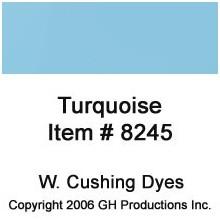 Turquoise Dye W. Cushing Co.