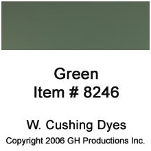 Green Dye W. Cushing Co.