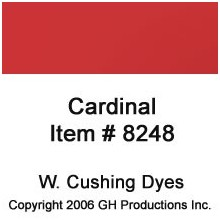 Cardinal Red  W. Cushing Co.