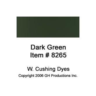 Dark Green Dye W Cushing Co