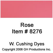 Rose Dye W Cushing Co
