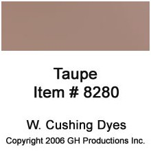 Taupe Dye W. Cushing Co.