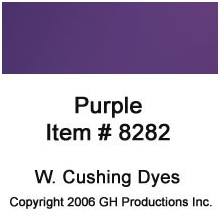 Purple Dye W. Cushing Co.