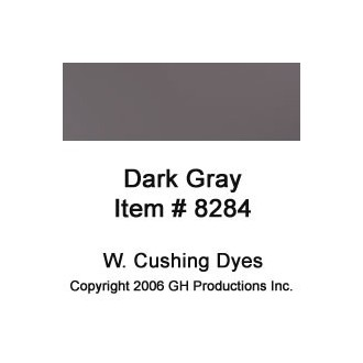 Dark Gray Dye W Cushing Co