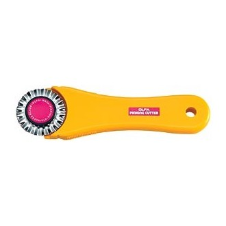 Rotary Pinking Cutter with Blade