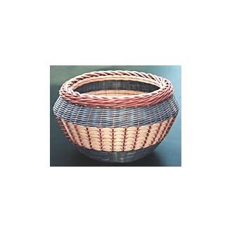Ridge Weave Basket Pattern
