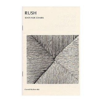 NATURAL RUSH Fiber Rush Seats Pamphlet