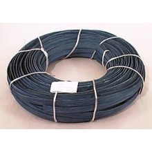 "1 lb. - 1/2"" Flat Amish Blue DYED--1 lb. bundle"