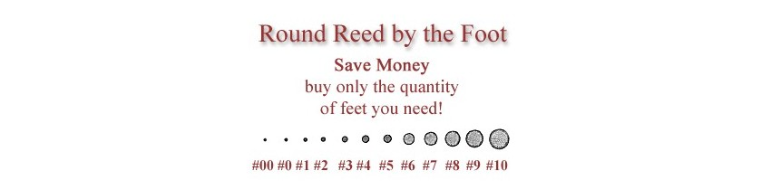 Round Reed by the Foot