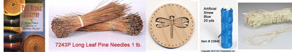 Pine Needle Basketry supplies
