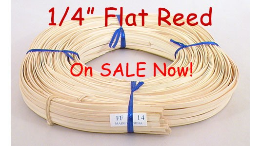 Save on 1/4 inch Flat Reed