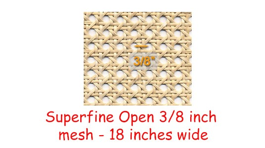 Superfine Open 3/8 inch Mesh 18 inches wide