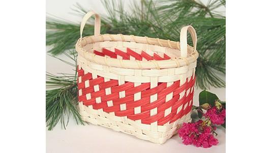 Peppermint Twist FREE Basket Pattern