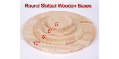 How to calculate the quantity of spokes for a round slotted base
