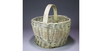 White Oak Rod Basket made by the Rector Family from Eastern Kentucky