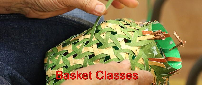 Basket Classes at The Basket Maker's Catalog