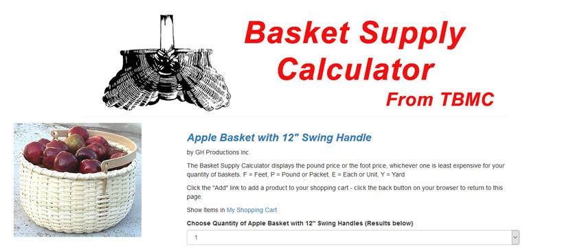 Basket supply Calculator