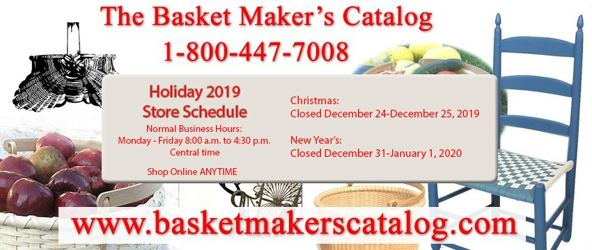 Holiday Store Schedule 2019